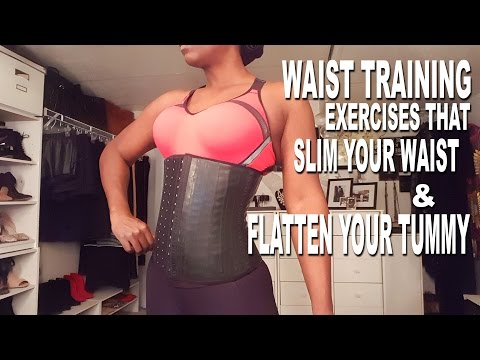 Best Waist Training Exercises For a Flat Belly & Slim Waist| Vlogmas Ep. #9| BEAUTYCUTRIGHTFINTESS