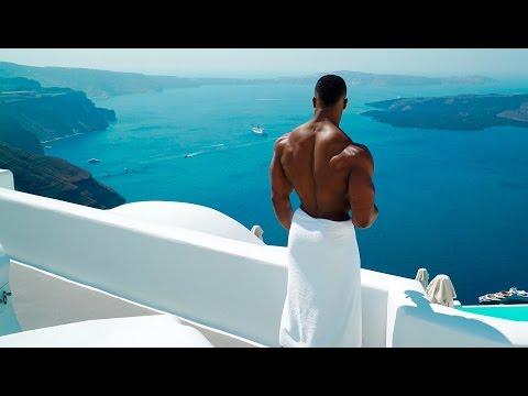 Pumping Iron In Santorini   Simeon Panda & Chanel Coco Brown