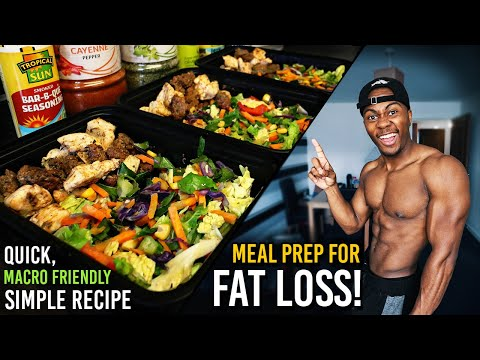 Low Carb Meal Prep For Fat Loss & Muscle Gain! | Shred Diet